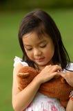 Caring girl. Asian Caring and Loving Girl Stock Photos