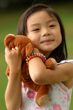 Caring girl no.2. Asian Caring and Loving Girl Royalty Free Stock Photography