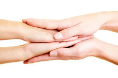 Caring hands Royalty Free Stock Image