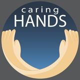 Caring Hands Symbol Stock Photography