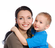 Caring mother Stock Images