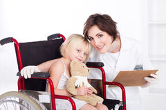 Caring nurse Royalty Free Stock Images