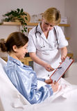 Caring professionals Stock Images