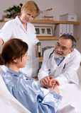 Caring professionals Stock Photography