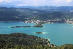 Carinthia Österrike Royaltyfria Foton