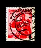 Carinthia Lavanttal, provinsiella dräkter 1948/58 serie, circa 1 Royaltyfri Fotografi