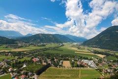 Carinthia during Summer season in Austria Royalty Free Stock Photo