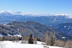 Carinthia-Villach-Alpen Stockfotografie