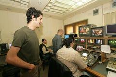 一个独立伊拉克电视台, Cario 免版税图库摄影