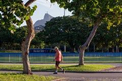 Carioca秋天有一个晴朗的下午 免版税库存图片