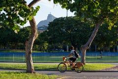 Carioca秋天有一个晴朗的下午 库存照片