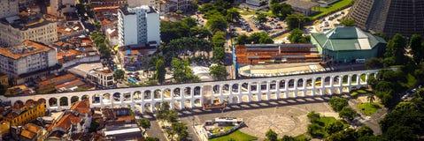 Carioca akvedukt Royaltyfri Foto