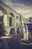 Carioca Aqueduct in Rio de Janeiro Royalty Free Stock Photo