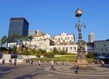 Carioca Square in Rio Stock Photo