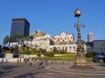 Carioca Square in Rio Stock Photography