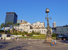 Carioca Square in Rio Royalty Free Stock Photos