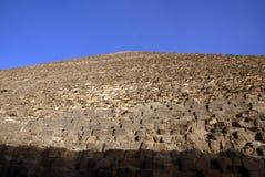cariocloseupegypt giza pyramid Royaltyfri Bild