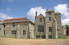 carisbrooke城堡 免版税库存照片