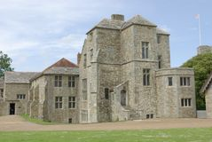 Carisbrooke Castle. The Constable lodgings at Carisbrooke Castle Isle of Wight England stock images