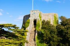 Carisbrooke Castle Isle of Wight στοκ φωτογραφίες