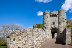 Carisbrooke Castle Isle Of Wight Stock Image
