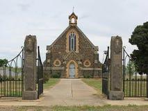 Carisbrooks St Pauls Anglican Church (1866) rymde dess sista service och deconsecration i Oktober 2015 efter 149 år av dyrkan Royaltyfri Foto