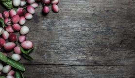 Carissa carandas oder carandas Karonda mit Blättern Lizenzfreies Stockfoto