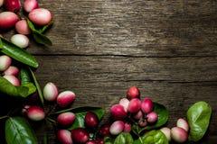 Carissa carandas oder carandas Karonda mit Blättern Lizenzfreie Stockbilder