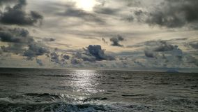 Carita beach, banten Royalty Free Stock Image