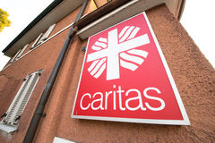 Caritas abstract stock photo