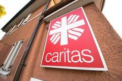Caritas abstrakt begrepp Arkivfoto