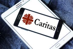 Caritas Internationalis logo stock photography