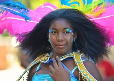 Cariwest Girl Portrait Stock Photos