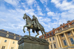 Carl-August Monument (Weimar) Stock Photos