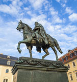 Carl-August Monument (Weimar) Royalty Free Stock Photography