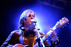 Carl Barat and the Jackals (band) performs at MBC Fest Royalty Free Stock Images