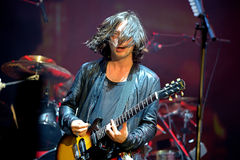 Carl Barat, singer and guitarist of the famous band The Libertines Stock Photo