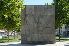 Carl Benz Memorial in Mannheim, Deutschland stockbild