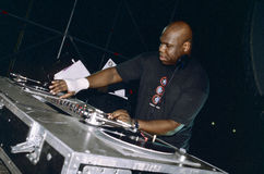 Carl Cox DJ Stock Photo