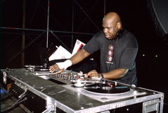 Carl Cox DJ Royalty Free Stock Photography