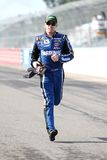 Carl Edwards running Royalty Free Stock Images