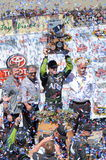 Carl Edwards Wins chez Sonoma Image stock