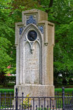 Carl Friedrich Gauss monument. The old cemetery in the eastern part of Göttingen Stock Photo