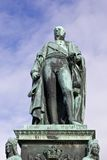 Carl Friedrich statue closeup Royalty Free Stock Photography