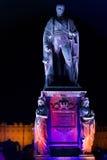 Carl Friedrich, założyciel miasto Karlsruhe, Niemcy Fotografia Royalty Free
