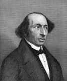 Carl Gustav Jacob Jacobi. (1804-1851) on engraving from 1859. German mathematician. Engraved by unknown artist and published in Meyers Konversations-Lexikon Stock Images
