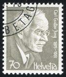 Carl Gustav Jung royalty free stock image