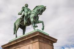 carl Johan królewiątka statua viv Zdjęcia Stock