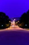 Carl johans street Royalty Free Stock Photography
