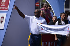 Carl Lewis Royalty Free Stock Image